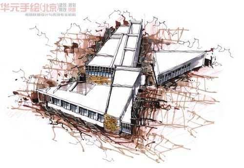 手绘培训,华元手绘,考研快题,手绘中国营,手绘设计网,设计手绘