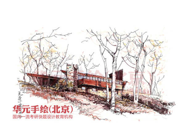 >> 建筑手绘作品 李小虎 英国ua国际建筑设计公司(上海)建筑师 华元10