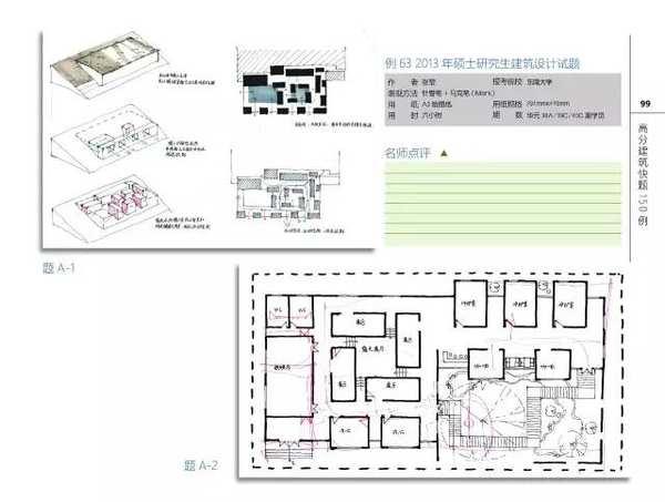 中国建筑设计院,北京建筑设计院,深圳建设设计院等入职快题任务书!